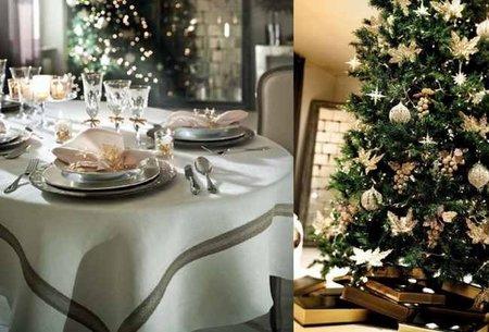 decoración navideña corte inglés neutro