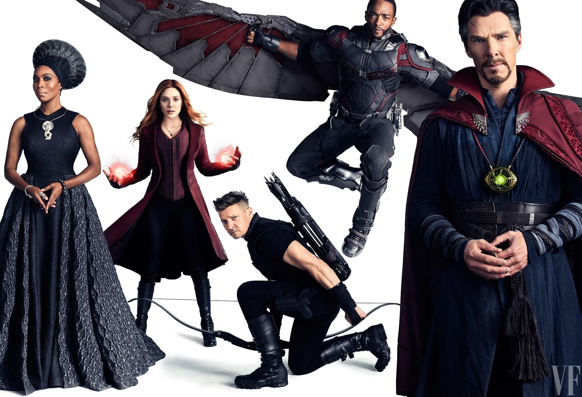 Foto de Los Vengadores de Marvel reunidos por el 10º aniversario (10/11)