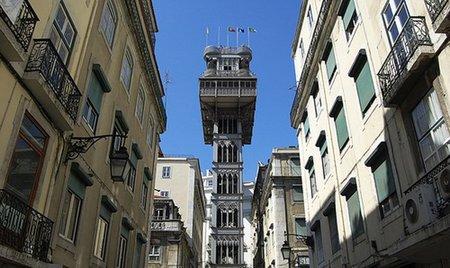 El Elevador de Santa Justa: en ascensor hasta el Barrio Alto de Lisboa