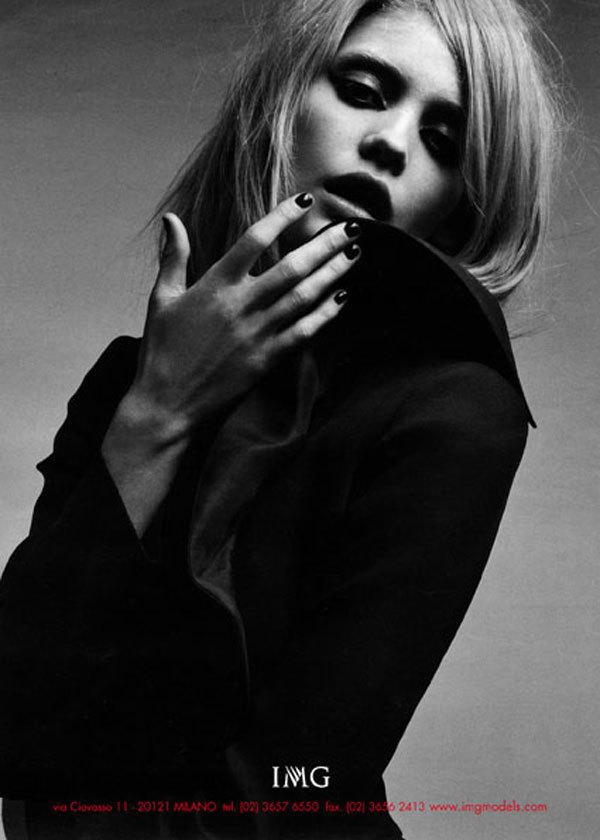 Foto de Heidi Mount, la enésima musa de Karl Lagerfeld (8/14)
