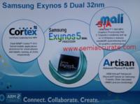 Samsung Exynos 5 Dual, doble núcleo ARM Cortex-A15 y GPU Mali T-604