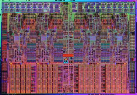 Intel Nehalem Die