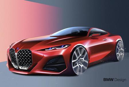 Bmw 4 Concept Sketch