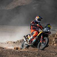 Toby Price, salvado por la campana: El Dakar anula la última parte de la etapa en motos y recupera 27 minutos