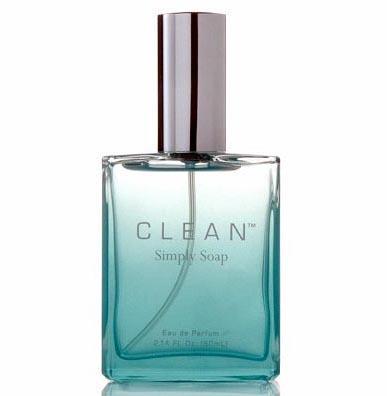Clean, perfume con olor a jabón natural