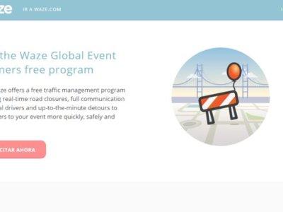 Waze ayudará a los organizadores de grandes eventos a controlar e informar sobre el tráfico