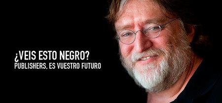 Gabe Newell augura un futuro bien negro para los grandes publishers