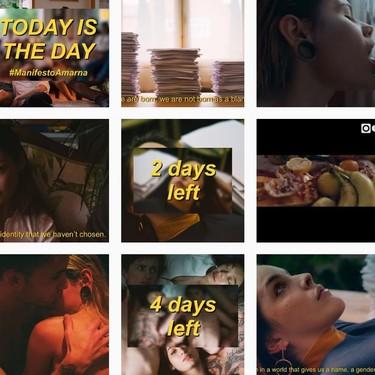 Amarna Miller borra todas sus fotos de Instagram para hacer una declaración de intenciones y anunciar su tienda online
