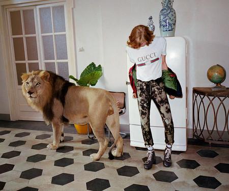 Gucci sabe que es el rey de la jungla de moda y lo demuestra en su campaña SS2017