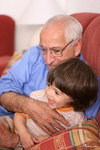 El gran ahorro en guarderías: los abuelos