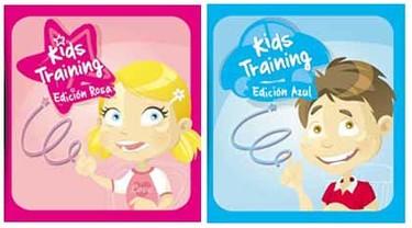 Kids Training para Nintendo DS, ediciones rosa y azul