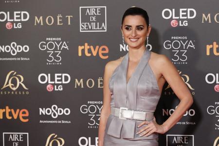 Premios Goya 2019: Penélope Cruz prefiere la sobriedad y no conquista en la alfombra roja