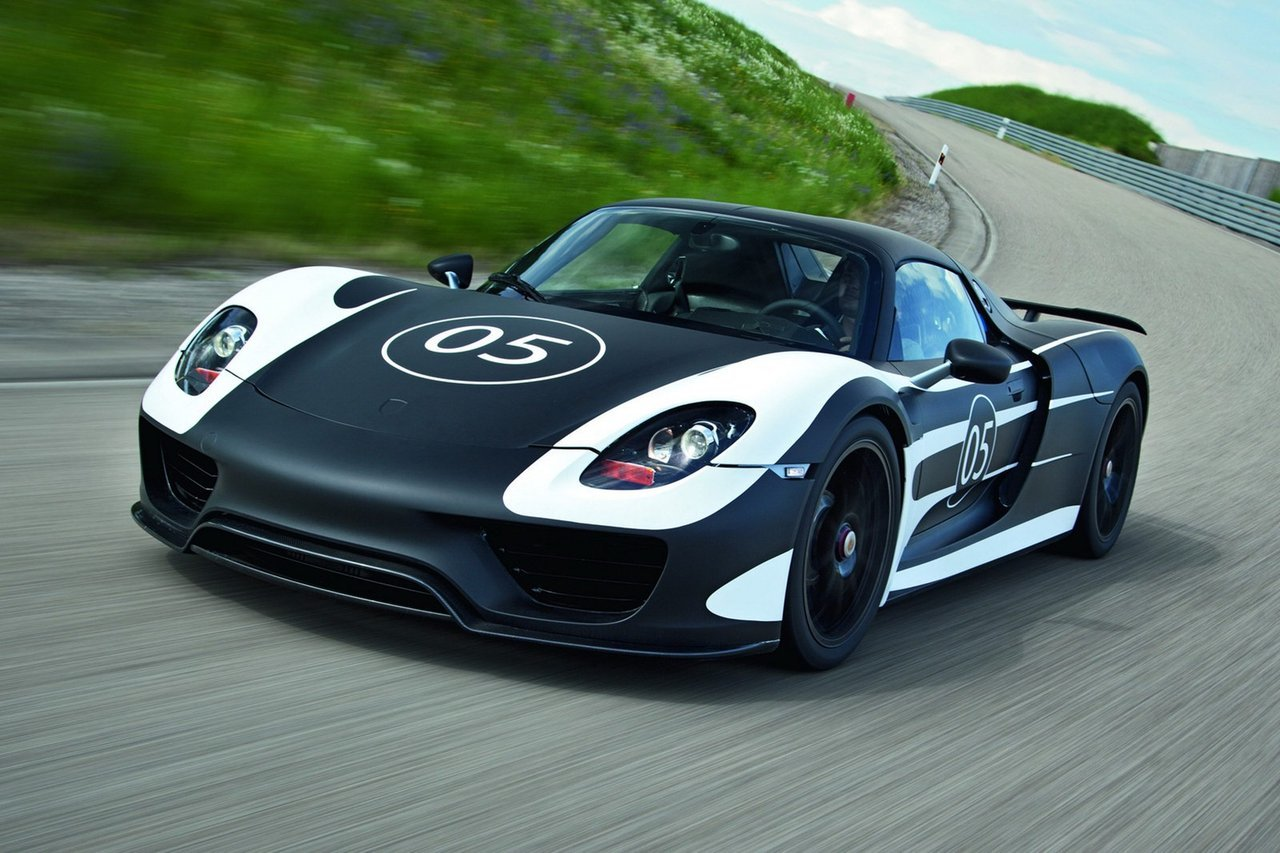 Foto de Porsche 918 Spyder Hybrid 14/05 (10/17)