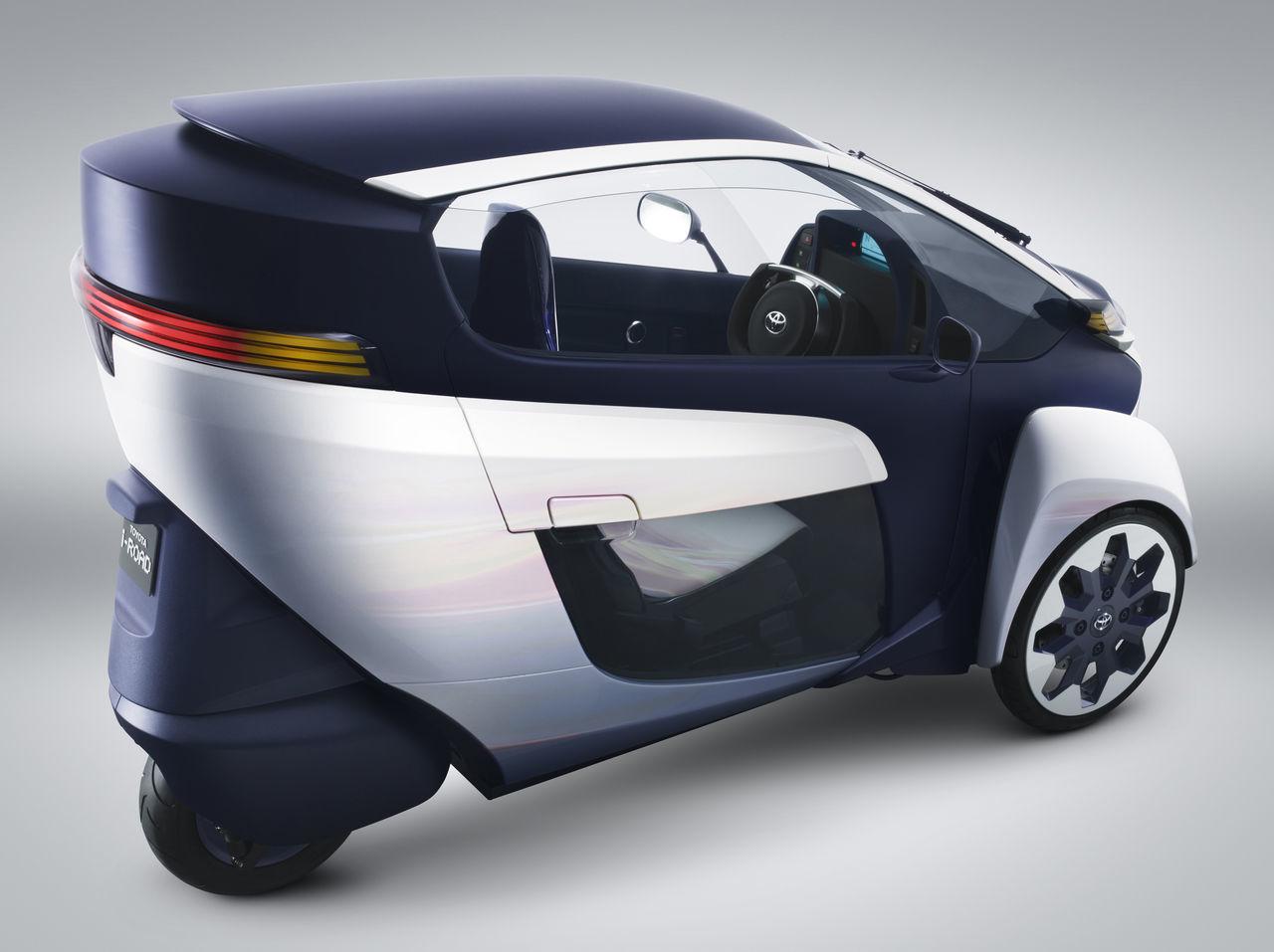 Foto de Toyota i-Road (prototipo) (10/14)