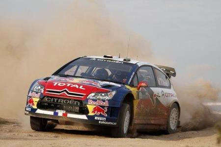 Los Citroën comienzan dominando en suelo turco
