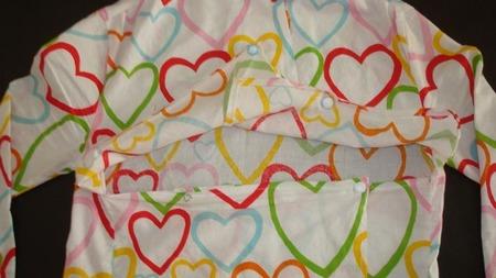 Apertura del pijama teteador