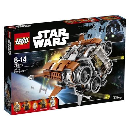 Por 50,04 euros tenemos el Quadjumper de Jakku de Lego Star Wars con envío gratis en Amazon
