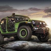 Así luce el nuevo Jeep Wrangler 2018 hasta arriba de accesorios Mopar