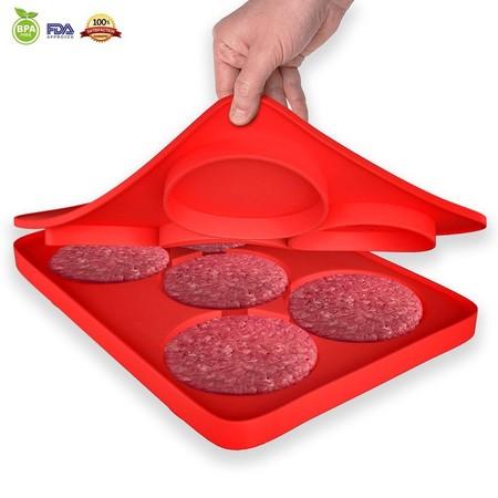¿Quieres preparar unas ricas hamburguesas caseras? Ahora el molde de 5 en 1 para hamburguesas por sólo 10,79 euros en Amazon