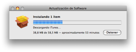 Actualización de software: iTunes 8.0.1 y Apple TV 2.2
