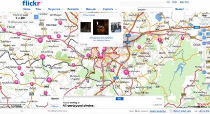 Flickr ahora con más geolocalización: Places y WorldMap