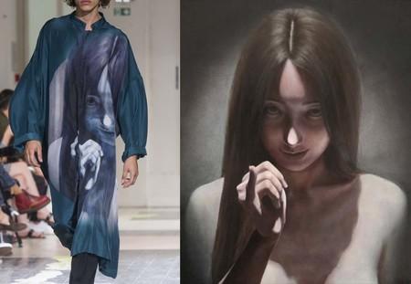 Suzuke Uchida Yohji Yamamoto Spring Summer 201804