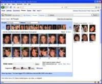 Picasa, con reconocimiento facial