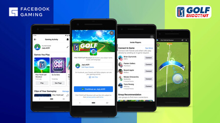 'PGA TOUR Golf Shootout' en Facebook Gaming