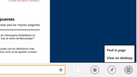 Firefox 26 Modern UI, cambios en la disposición de elementos