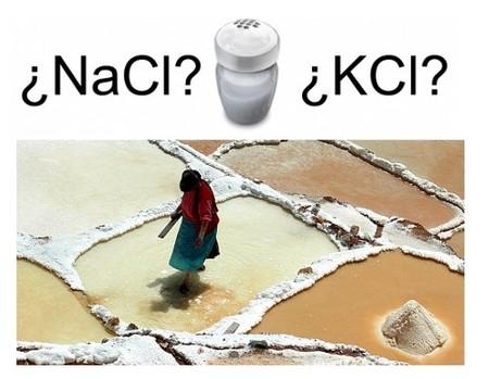 El Cloruro de Potasio, sustitutivo de la sal