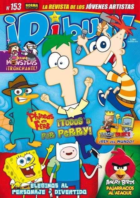 Ya está a la venta en quioscos la revista Dibus de diciembre 2012