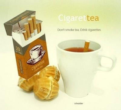 Cigarettea, cigarros de té