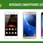 Sony Xperia E5, Samsung Galaxy J7, Galaxy J3 y Huawei Y5 II, novedades Orange en julio y sus precios