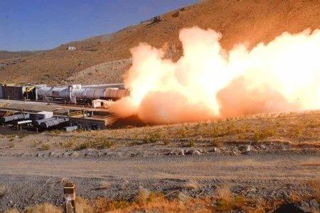 La prueba del motor de cohete más potente de su historia ha sido un éxito