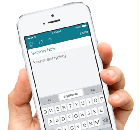 SwiftKey llegaría a medias a iOS, según @evleaks