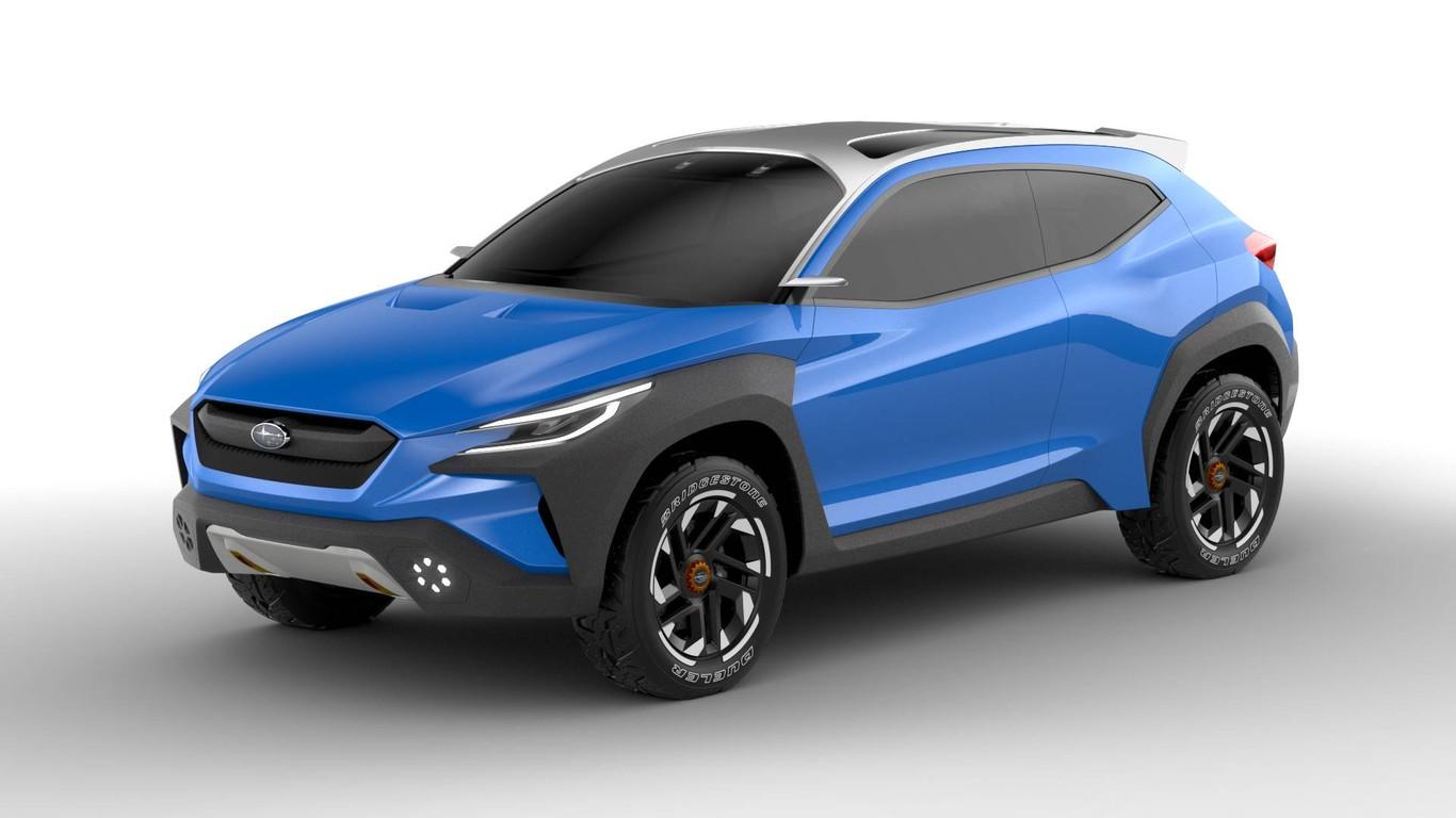 Subaru presenta una nueva filosofía de diseño contenida en el Subaru Viziv  Adrenaline concept 38087291e1c8