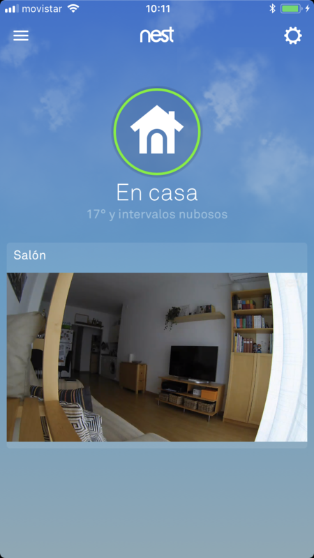Nest Cam Indoor App