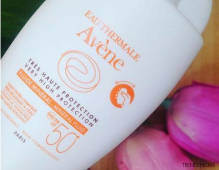 ¿Buscas protección solar para pieles sensibles? Probamos Avène Fluido Mineral, una opción perfecta