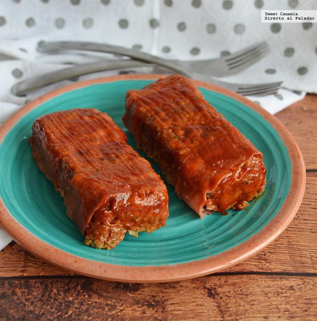 Pasteles de carne envueltos en tocino. Receta para el otoño
