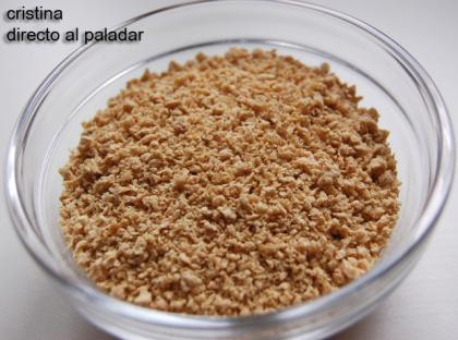 Soja texturizada, proteína vegetal