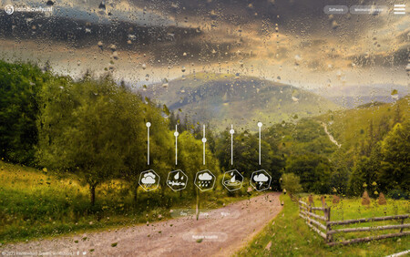 Esta web ofrece una genial simulación visual y sonora de un día o noche lluviosa para ayudar a relajarte
