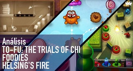 'To-Fu: The Trials of Chi', 'Foodies' y 'Helsing's Fire' para iPhone. Análisis