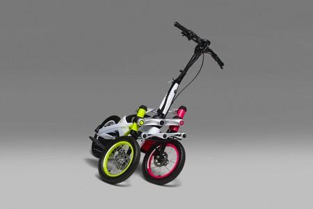 Con un patinete eléctrico de tres ruedas con mecanismo de inclinación integrado es como Yamaha quiere cambiar la movilidad urbana
