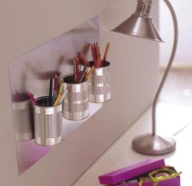 Recicladecoración: un lapicero con tus latas de conservas