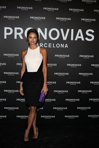 Los looks de las invitadas al desfile de Pronovias 2014