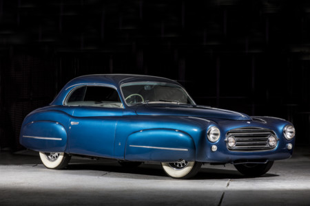 134 1949 Delahaye 135 Ms Coupe Ghia Turin