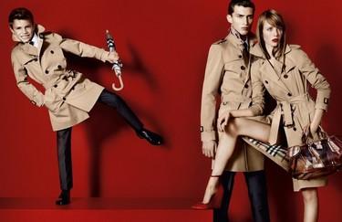 De tal palo tal astilla... Romeo Beckham el nuevo 'top model' de Burberry