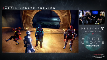 Destiny Actualizacion De Abril 18