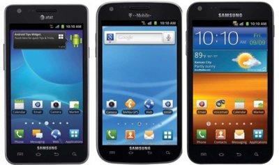 Especificaciones de los Samsung Galaxy S II para EEUU (actualizado)