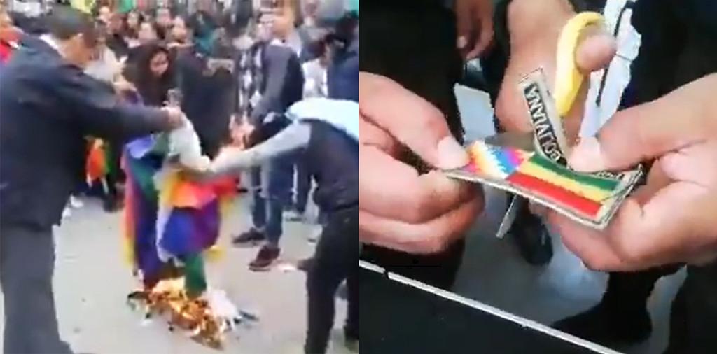 ¿Qué hace el ejército de Bolivia cortando banderas? El conflicto de etnia, clase y religión en la crisis